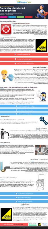 Plumbing Force Infographics
