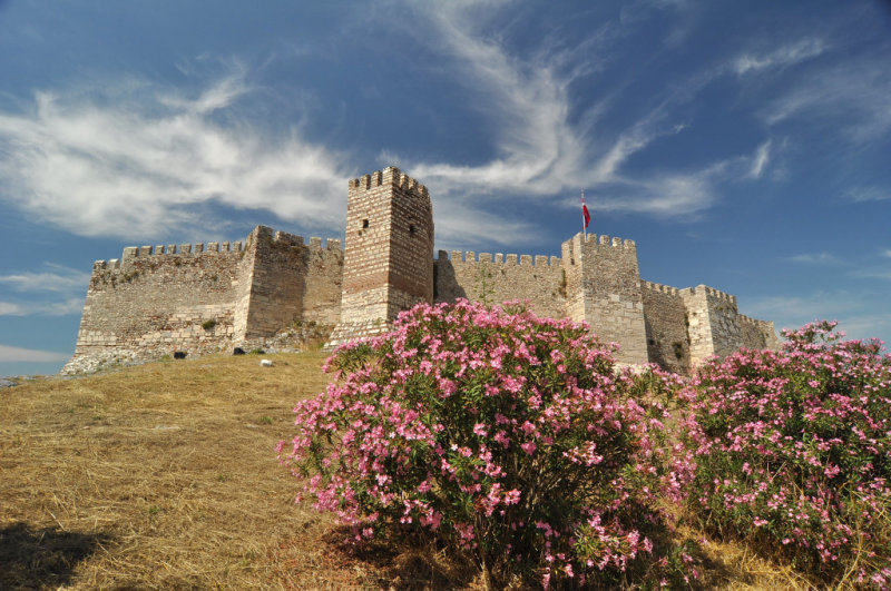 Selçuk - restored byzantine castle