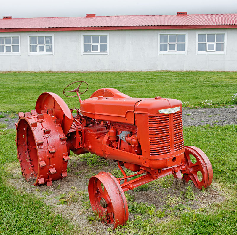 Old International Tractor