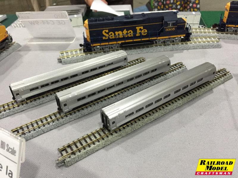 Kato N: Amfleet I Passenger Cars
