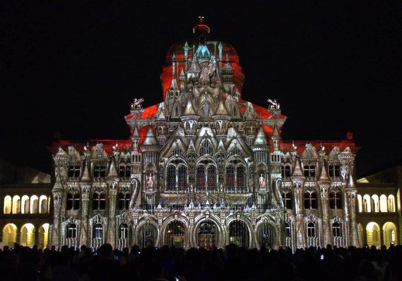 Parliament building in Bern