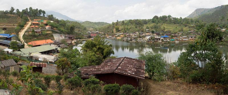 Chinese village (Ban Rak Thai) in Mae Hong Son