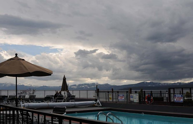 Storm Over the Pool