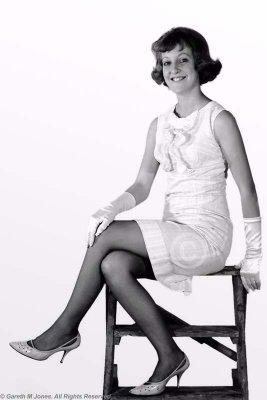 1960s Pin-Up Girl MF020205