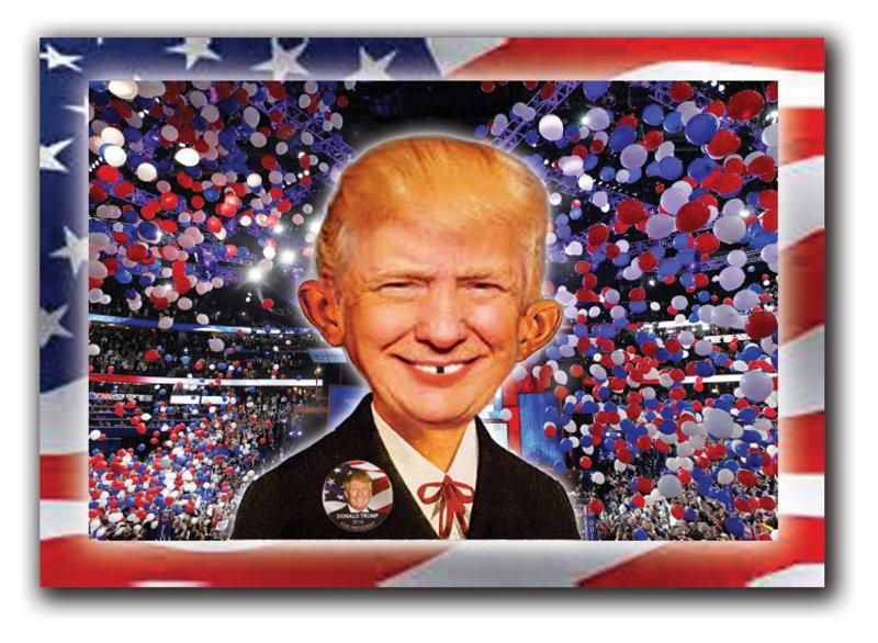 Alfred E Trump for President