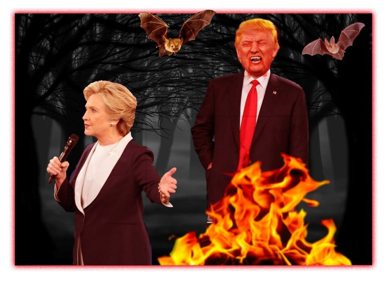 Vampire Trump Ready to Assault Hillary at 2nd Debate!