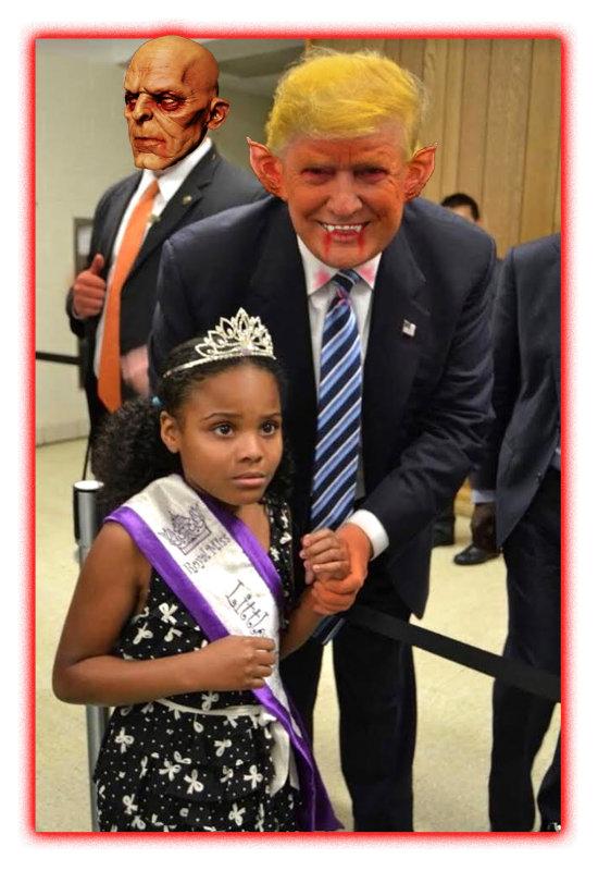 Trump Vampire Terrifies Princess