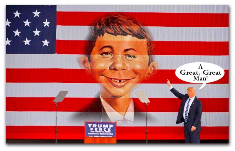 Trump Honors Alf