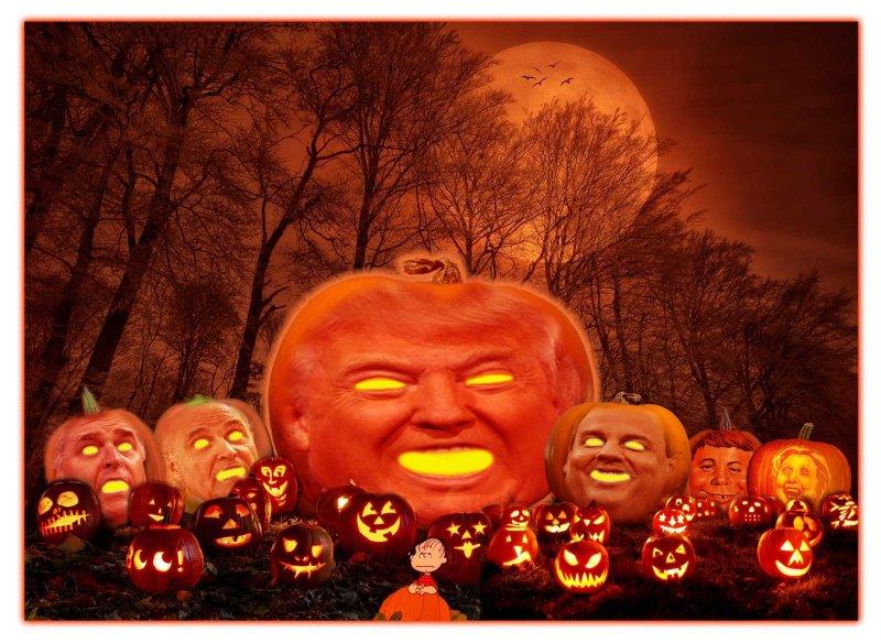 Trumps Great Pumpkin Patch