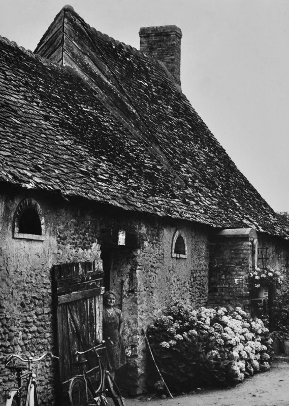 in a village in Bourgogne (1981)