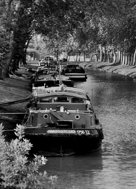 Toulouse; Canal du Midi (in the 1990s)