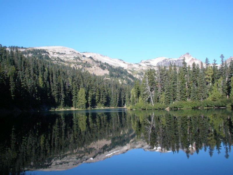 Morning View of Surprise Lake