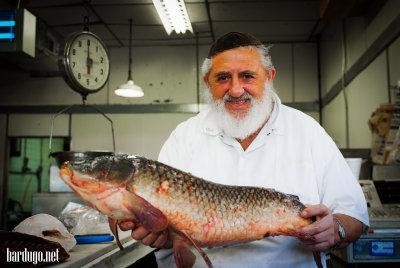 Fish store in Brooklyn