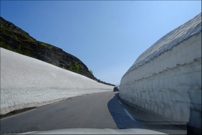 38. Much snow still in July,Vikafjellet.....