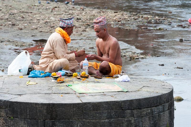 Kathmandu, Pashupatinath.