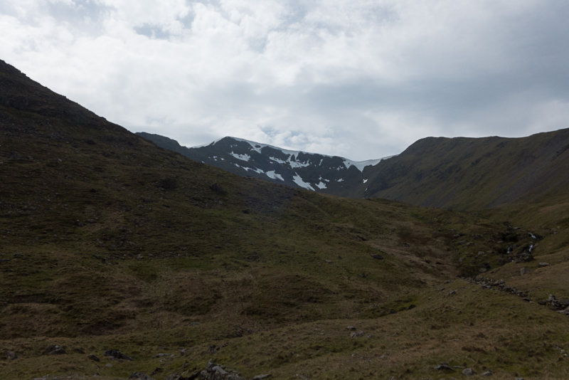 First view of Helvellyn