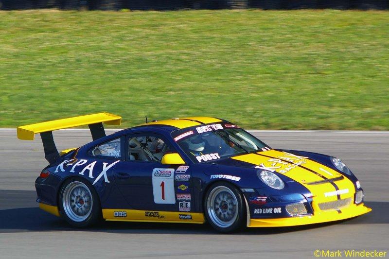 6TH RANDY POBST  PORSCHE 911 GT3