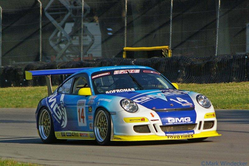 8TH JAMES SOFRONAS  PORSCHE 911 GT3