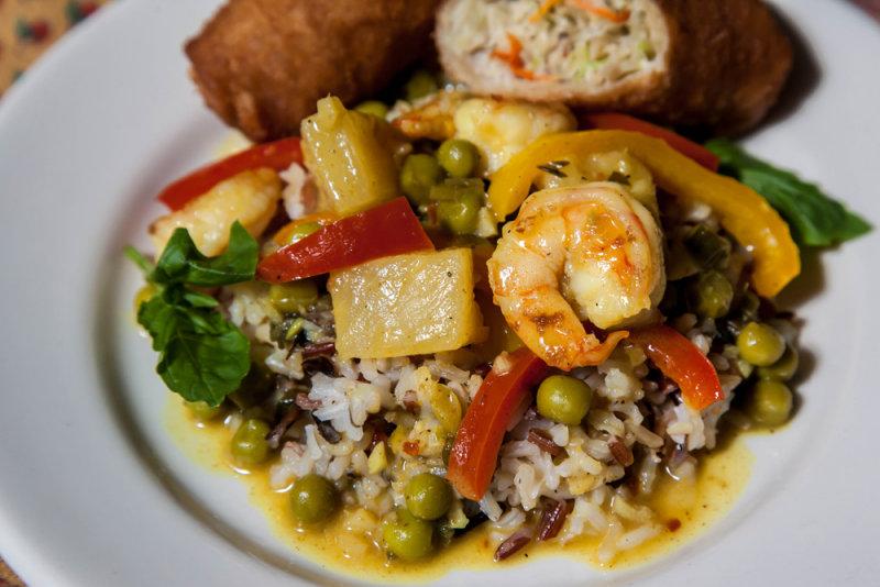 Thai Pineapple and Shrimp Curry
