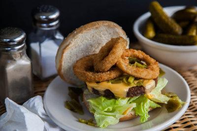 Hatch Chile Veggie Burger