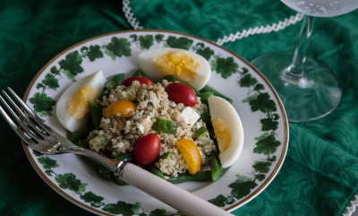 Greek Tabouleh Salad