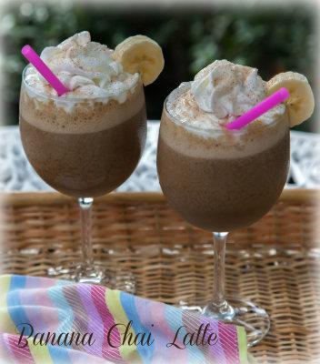 Banana Chai Latte