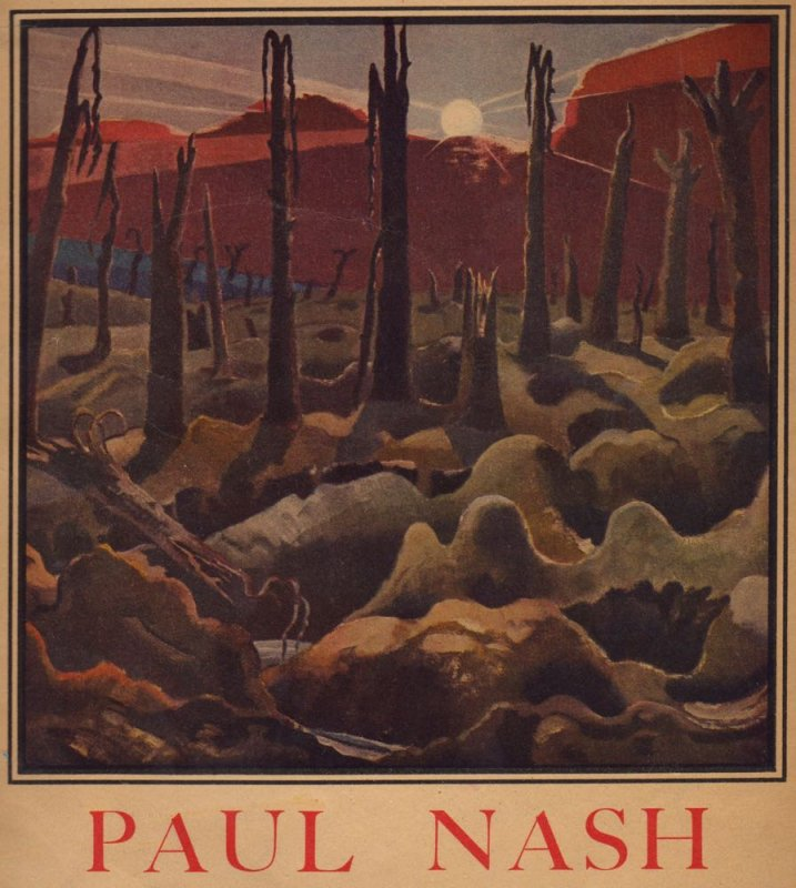 Paul Nashs painting, Sunrise: Inverness Copse