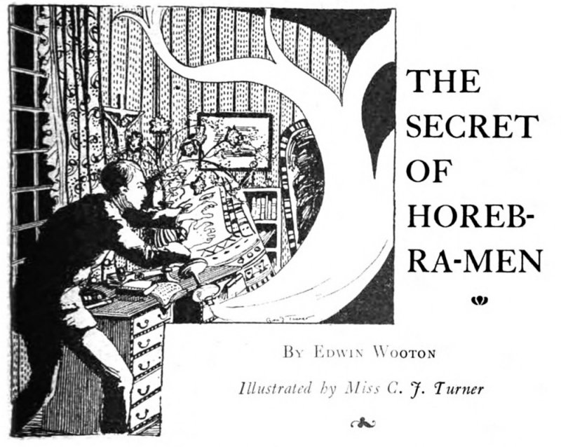 Drawing by Miss C J Turner in The Idler, May 1909, pg 213.
