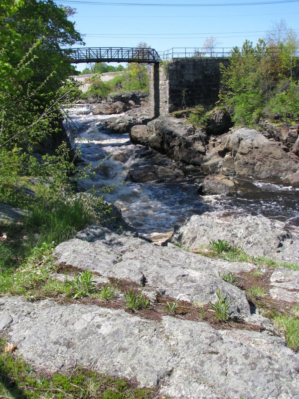 Bad Little Falls in Machias, Maine