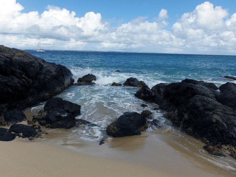 Rocks at Happy Bay