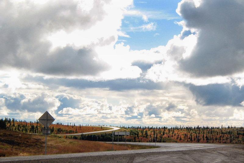 Dalton Highway big sky