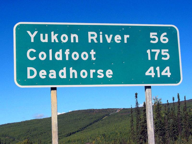 Dalton Highway start