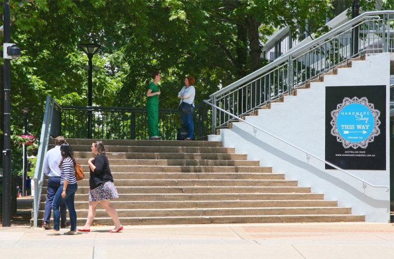 Canberra - Steps