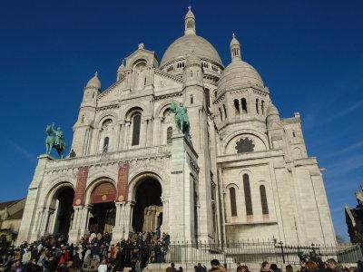 Montmartre and Basilica of the Sacré Cœur