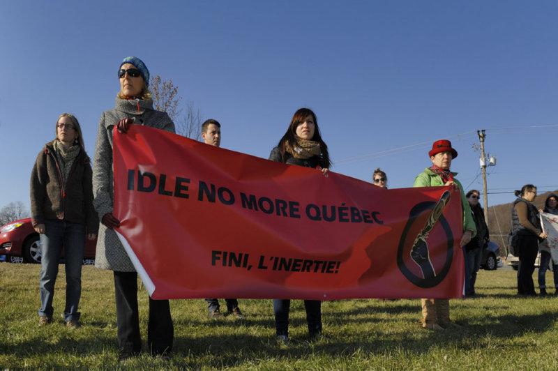 OKA 16 Nov 2013 Mobilisation Journée du Climat