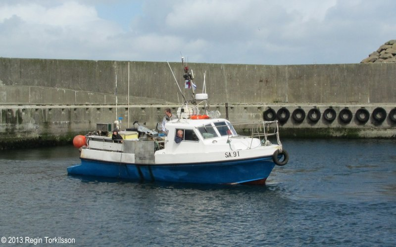 Fiskaklettur SA 91