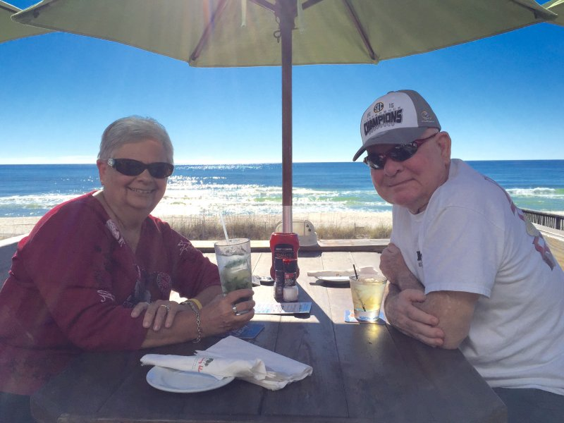 Don and Carol celebrate their 53rd anniversary.