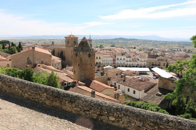 Trujillo. Vista desde el Mirador de la Reina