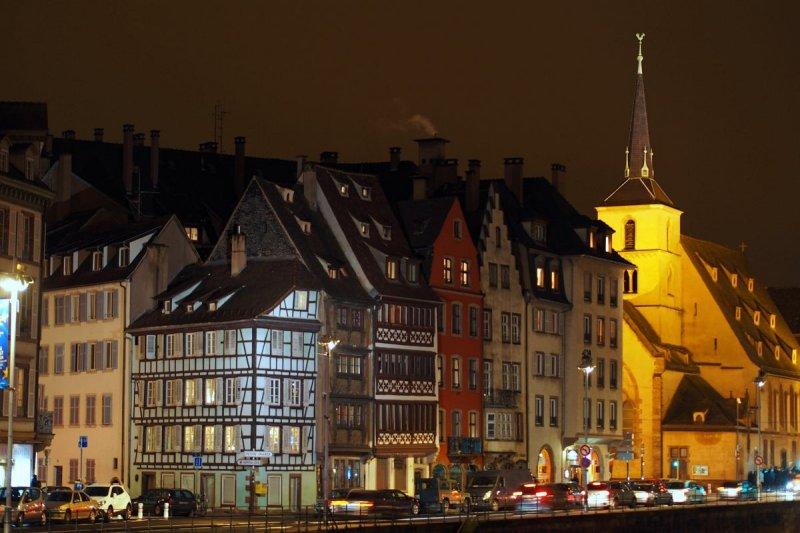Strasbourg by night