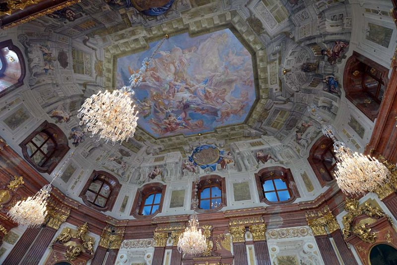 Ceiling of the Marble Hall, Upper Belvedere, Vienna - 5223
