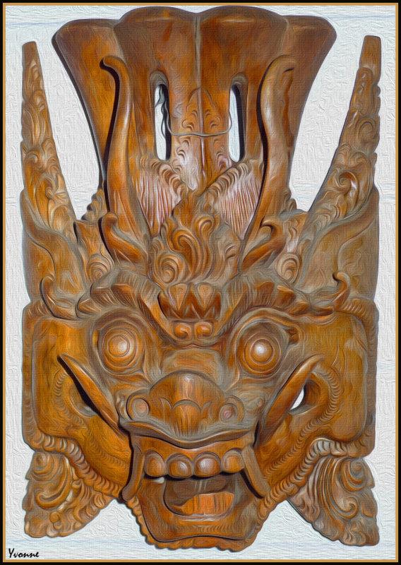 M = Mask (Balinese)
