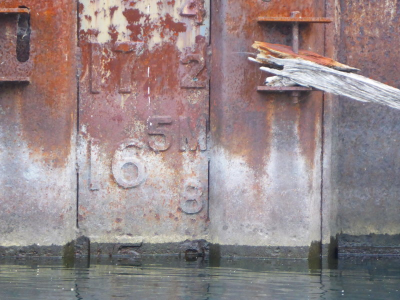 Collingwood Dry Dock Basin Water Level - July 2, 2013 at 9:25 AM
