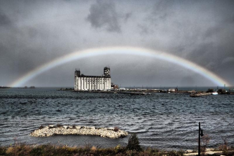 Collingwood Harbour Terminals Rainbow 2