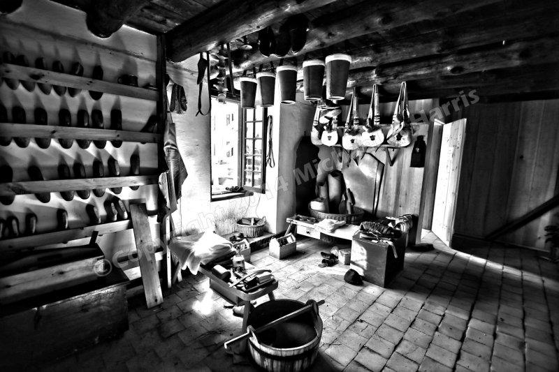 Boot Maker and Saddle Shop, Fort Ticonderoga, New York