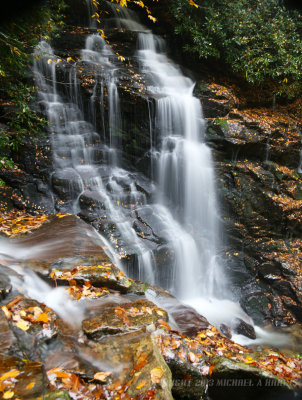 Soco Falls, Cherokee, North Carolina