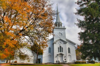 First Presbyterian Church of Cazenovia, New York. Founded 1749
