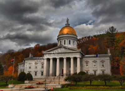 State House Building, Montpelier, Vermont