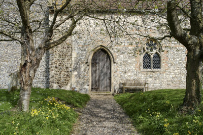Plumstead Church in Early Spring