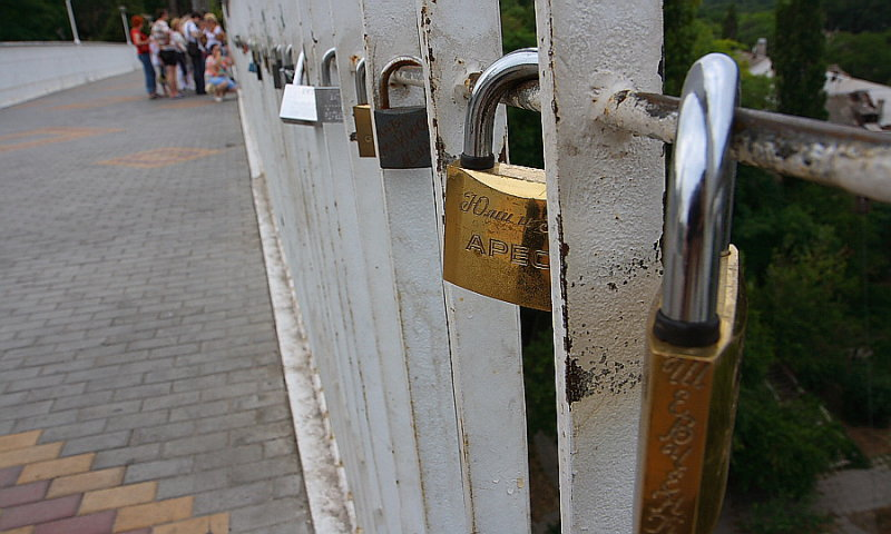 Odessa: bridge of mother-in-law
