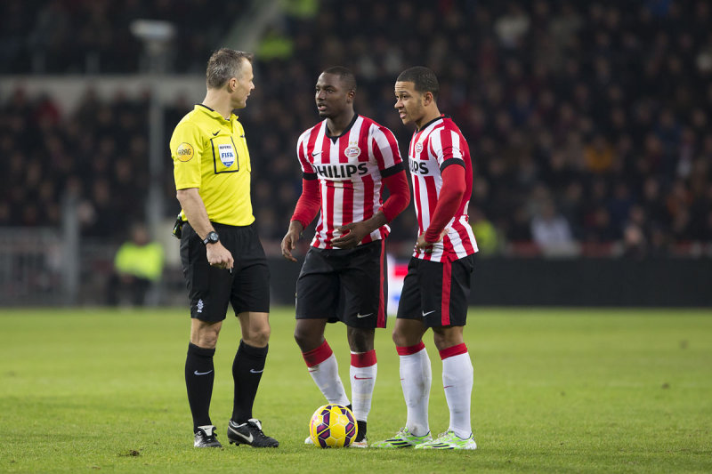 Jetro Willems and Memphis Depay